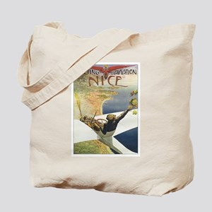 Vintage Airplane Tote Bag