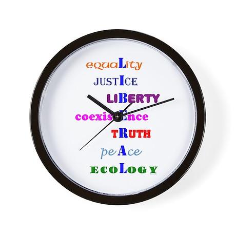 I am Liberal Wall Clock