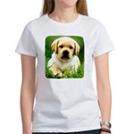 Yellow Labrador Puppy Women's T-Shirt
