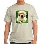 Yellow Labrador Puppy Light Color T-Shirt