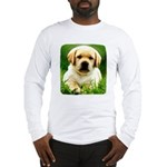 Yellow Labrador Puppy Long Sleeve T-Shirt