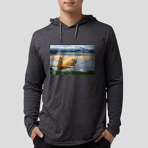 Float plane 6, Lake Hood, Anch Long Sleeve T-Shirt