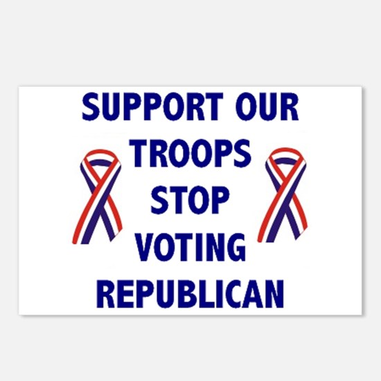 Support Our Troops! Postcards (Package of 8)