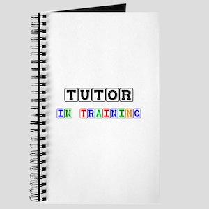 Tutor In Training Journal
