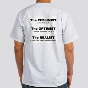 Light T-Shirt - Pessimist/Optimist/Realist