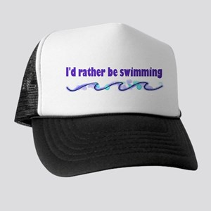 I'd rather be swimming Trucker Hat