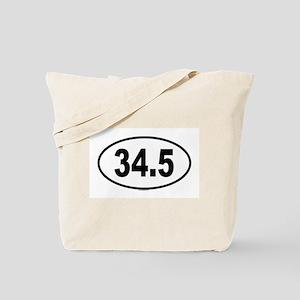 34.5 Tote Bag