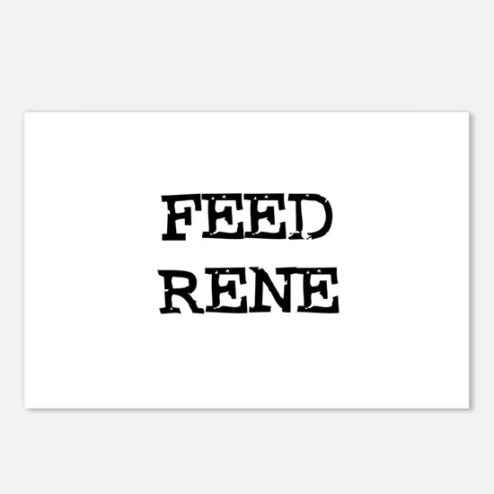 Feed Rene Postcards (Package of 8)
