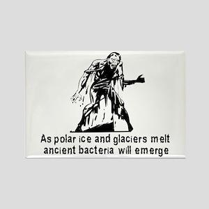 Polar Ice Monster Rectangle Magnet