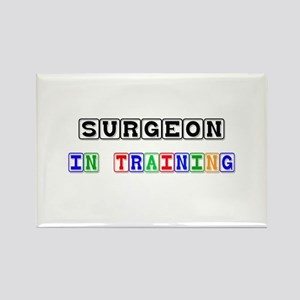 Surgeon In Training Rectangle Magnet