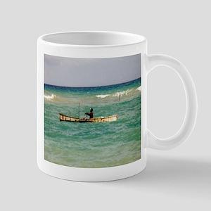 Jamaican Fisherman, Mug