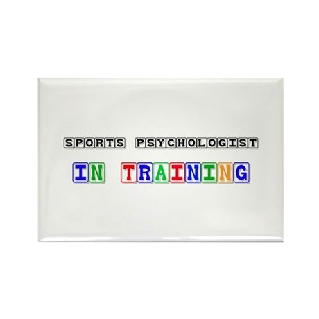 Sports Psychologist In Training Rectangle Magnet