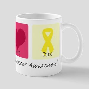 Peace Love Cure LC Mug