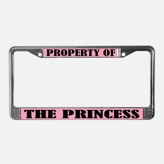 Property of The Princess License Frame