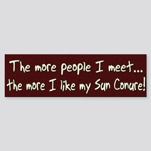 More People Sun Conure Bumper Sticker