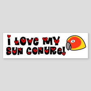 Anime Sun Conure Bumper Sticker