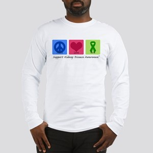 Peace Love Cure KD Long Sleeve T-Shirt