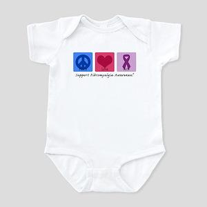Peace Love Cure FM Infant Bodysuit