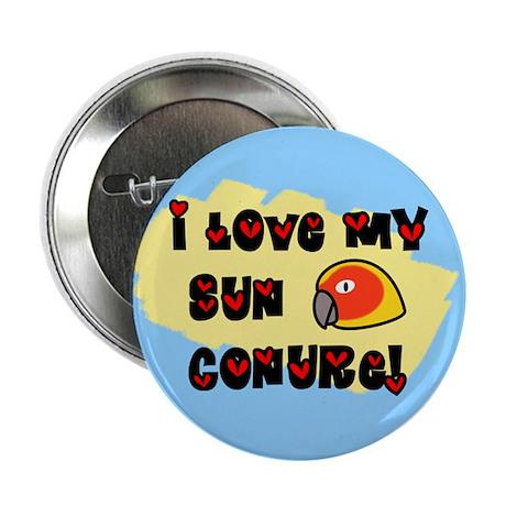 Anime Sun Conure Button