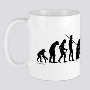 Thinker Evolution Mug