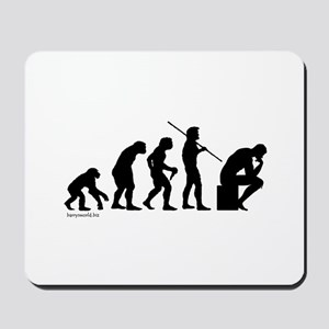 Thinker Evolution Mousepad