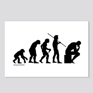 Thinker Evolution Postcards (Package of 8)