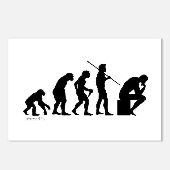Thinker Evolution Postcards (Package of 8)