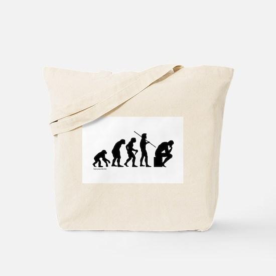 Thinker Evolution Tote Bag