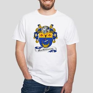 MacGillivray Family Crest White T-Shirt