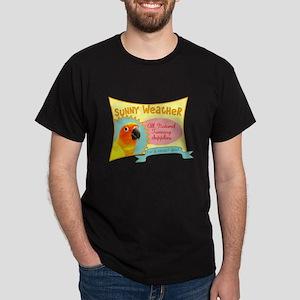Sunny Weather Sun Conure Dark T-Shirt
