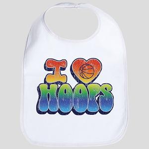 I love HOOPS Bib