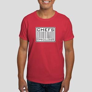 Chefs Priceless Barcode Dark T-Shirt