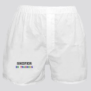 Sniper In Training Boxer Shorts