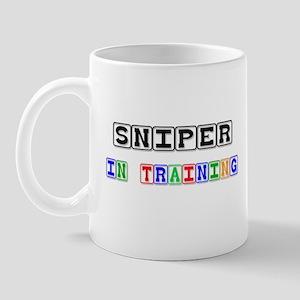 Sniper In Training Mug