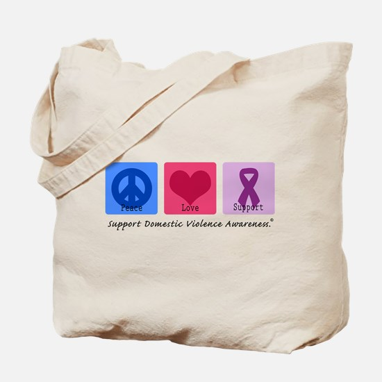 Peace Love DV Tote Bag