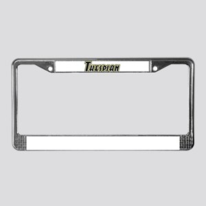 Thespian License Plate Frame