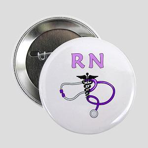 "RN Nurse Medical 2.25"" Button"