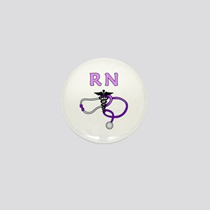 RN Nurse Medical Mini Button