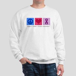 Peace Love Crohn's Sweatshirt
