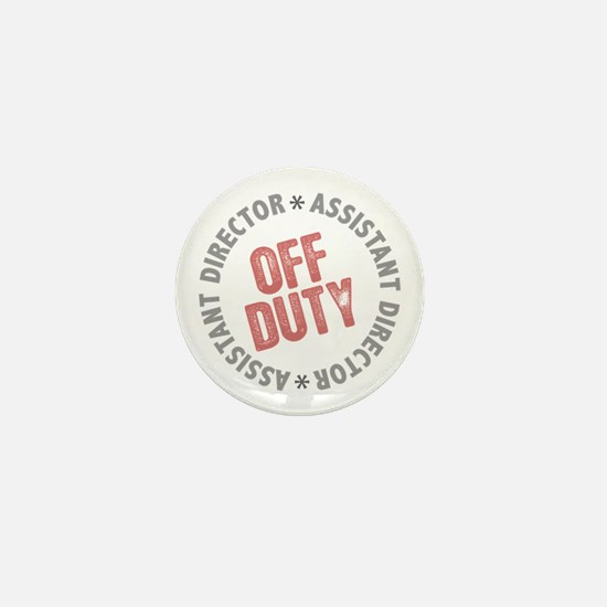 Off Duty Assistant Director Mini Button