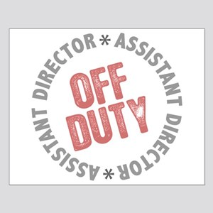 Off Duty Assistant Director Small Poster