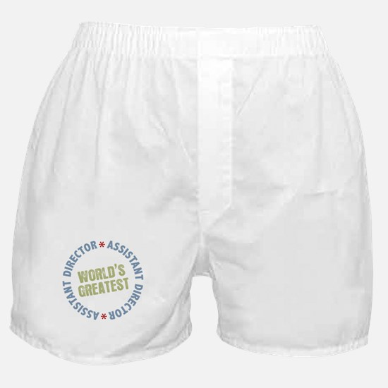 World's Greatest Assistant Director Boxer Shorts