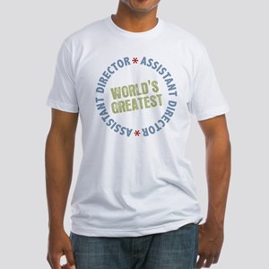 World's Greatest Assistant Director Fitted T-Shirt