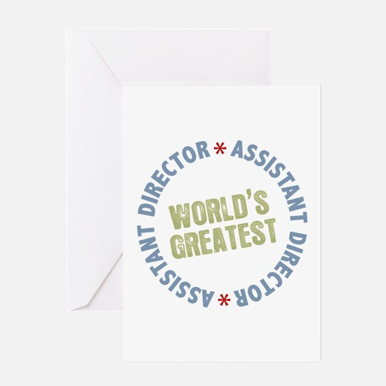 World's Greatest Assistant Director Greeting Card