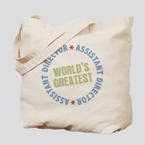 World's Greatest Assistant Director Tote Bag