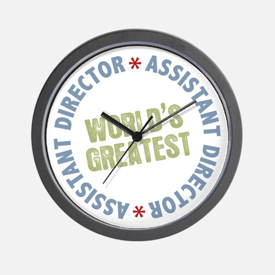World's Greatest Assistant Director Wall Clock