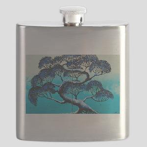 Blue Bonsai Serenity Flask