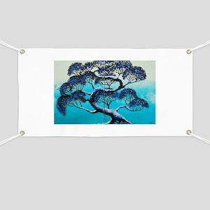 Blue Bonsai Serenity Banner