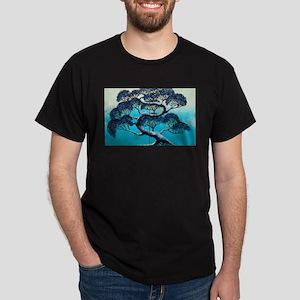 Blue Bonsai Serenity Dark T-Shirt