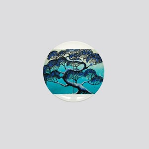 Blue Bonsai Serenity Mini Button
